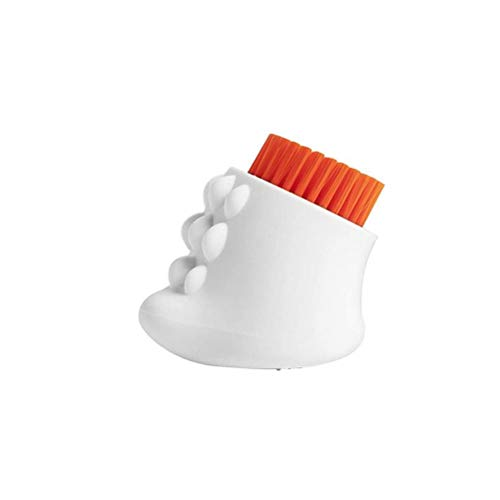 Cepillo de limpieza, Cepillo de limpieza suave de silicona, Cepillo con forma de dinosaurio Cepillo de lavado de tela de tres lados para lavar ropa de zapatos Coches, muebles, ropa, zapatos, bolsos