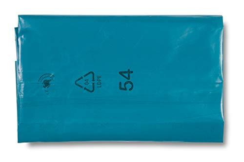 DEISS 90154 Müllsäcke, 240 L, blau, extra stark, 100 Stück