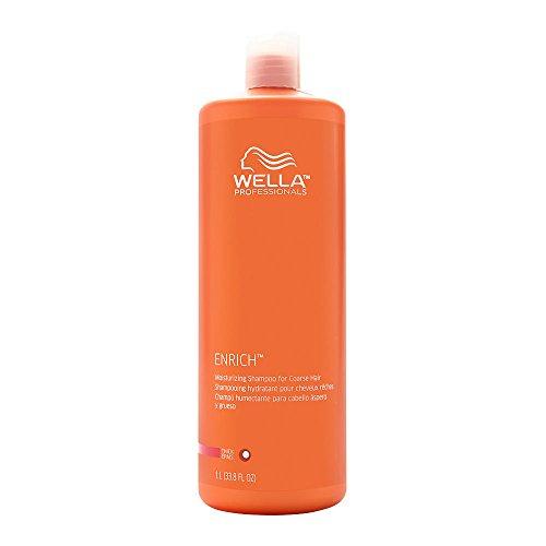 Wella Enriched Moisturizing Shampoo for Coarse Hair, 1L