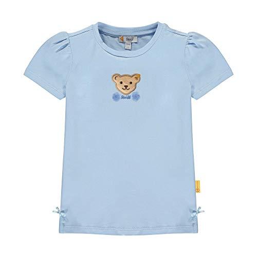 Steiff Mädchen T-Shirt, Blau (Kentucky Blue 6020), 98 (Herstellergröße: 098)