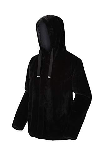 Regatta Haddie polaire doublée Chaude Femme avec capuche et poches latérales Fleece Femme Black FR: 2XL (Taille Fabricant: 20)