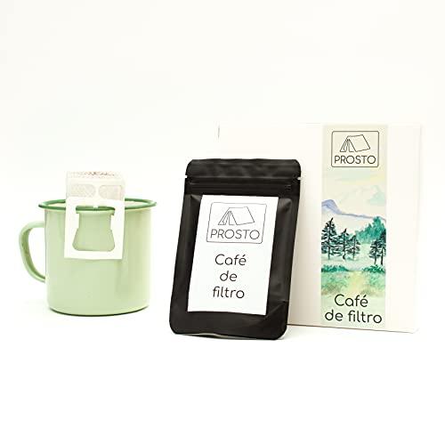 Café de filtro de bolsillo para camping, actividades y ocio