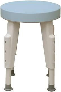 Maddak Rotating Shower Stool, Adjustable Legs (727152100)