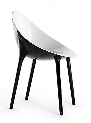 Kartell Super Impossible Chaises, Blanc, 57 x 53.5 x 55 cm
