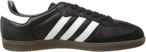 adidas Samba OG, Zapatillas para Hombre, Negro (Core Black/Footwear White/gum5), 39 1/3 EU