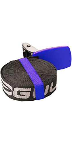 Gul Roof Rack Straps 5M x 30mm - 2x 5m X 30mm Webbing roof rack straps - Protective neoprene sleeve buckle covers