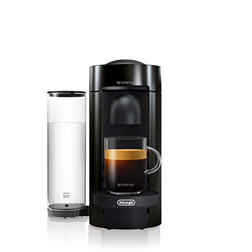 Nespresso by De'Longhi Vertuo Plus Coffee and Espresso Machine by De'Longhi, Ink Black