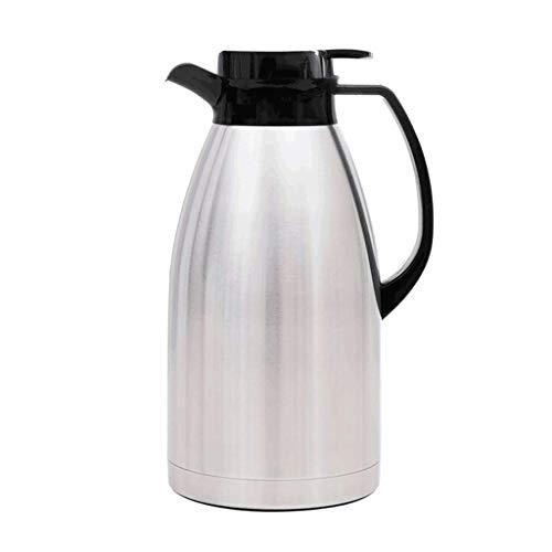 Pot d'isolation Pot de vide de 3L, pot de café de jus de café isolé par double paroi d'acier inoxydable du pot de café de 304