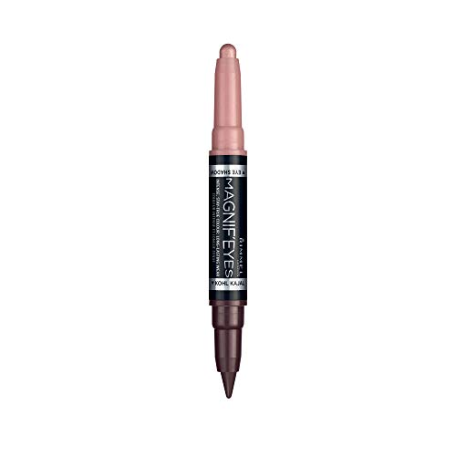 Rimmel magnif' Eyes Lidschatten 2 in1 Dual Zweck Schatten + Linien 007 Pink Outside The Box