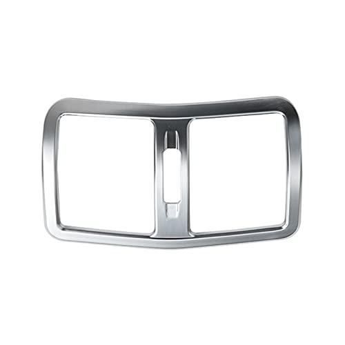 XIAOZHOU ZHOUBENXIANG Ajuste para Mercedes Benz E Class W212 2012 2012 2015 2015 2015 Estilo de Aire de la Cubierta de Aire de la Cubierta de Salida de la Salida de Aire. (Color Name : Silver)