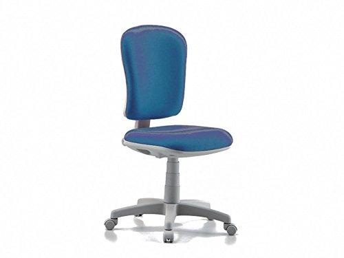GIMA 45092 Varese stoel zonder armleuning, Stof/Weefsel, 94/112 cm hoogte, 60 cm breedte, 47 cm lengte, blauw