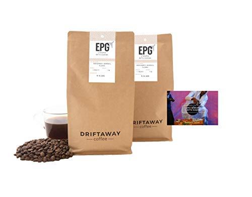 Driftaway Coffee - Fresh Roasted Artisanal Coffee, Medium Roast, Whole Beans, Single Origin, 100% Arabica, Specialty Grade, Gourmet, Roasted in Brooklyn, Perfect for Drip (1 Pound), Fruity