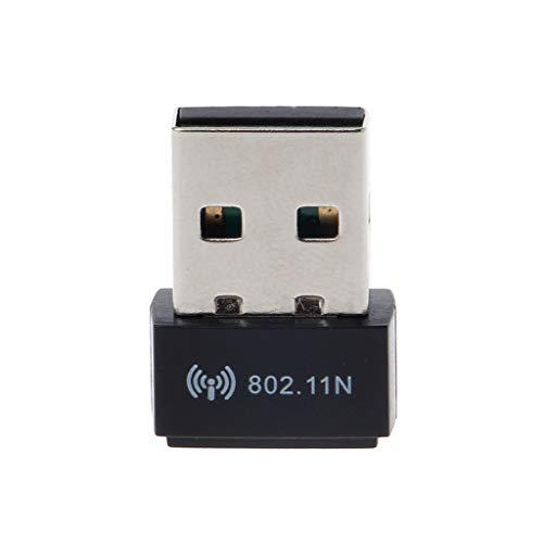 Ontracker MT7601 - Tarjeta Wi-Fi con adaptador mini USB 802.11 b/g/n, antena de 150 Mbit/s, receptor USB, tarjeta de red wifi externa para ordenador portátil de sobremesa