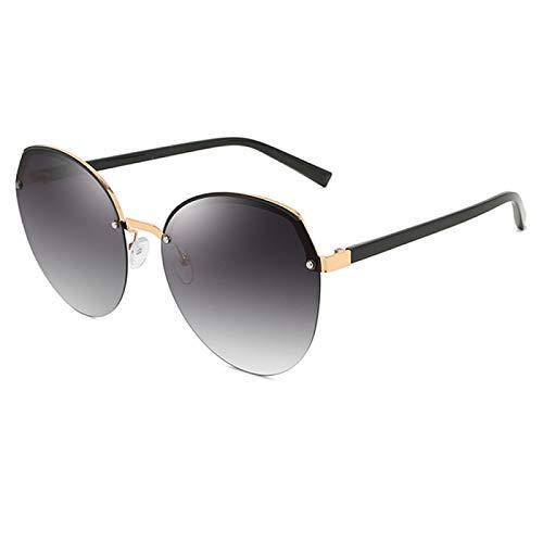 jiao UV400 Gafas de Sol polarizadas para Mujer Conducción para Gafas Negro/Morado/Rojo/Té 5 Colorescon Caja, Color de la caja1