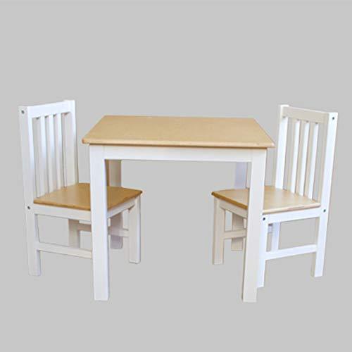 reer Rollenspiel-Sitzgruppe Professional, für Kindergarten, Hort, und Daheim, Kindertisch mit 2 Stühlen, Mehrfarbig