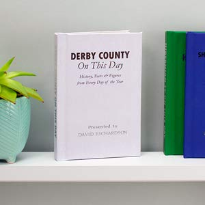 Signature gifts Personalised Derby County On This Day Book
