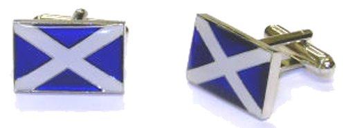 Clermont Direct Boutons de manchette Drapeau écossais