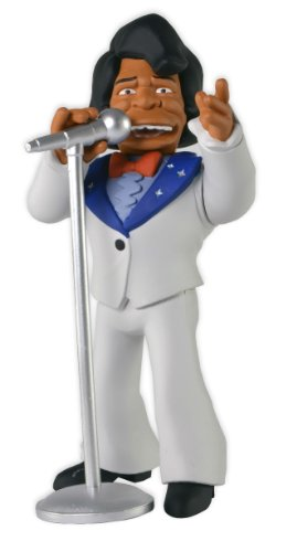 NECA 16005 Simpsons 25th Anniversary Série 1 James Figurine Blanc/Bleu/Marron 12,7 cm