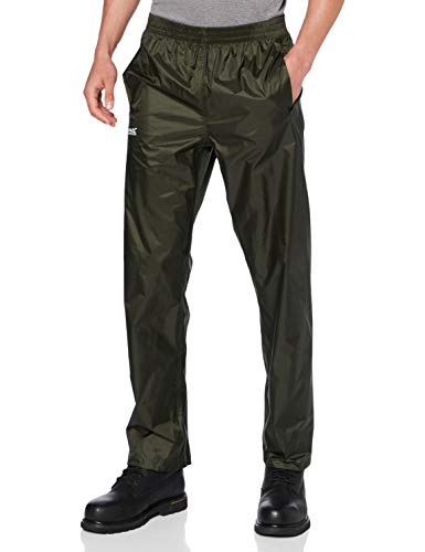 Regatta Herren Pack It Überhose, wasserfest XL Bayleaf