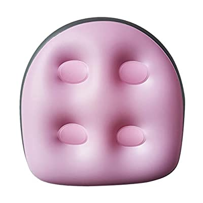 Back Pad Spa Cushion, 1pcs/2pcs Spa and Hot Tub Booster Seat Pad with Suction Cup, Back Support Bath Spa Pad Soft Inflatable Booster Seat, for Hot Tub & Spa