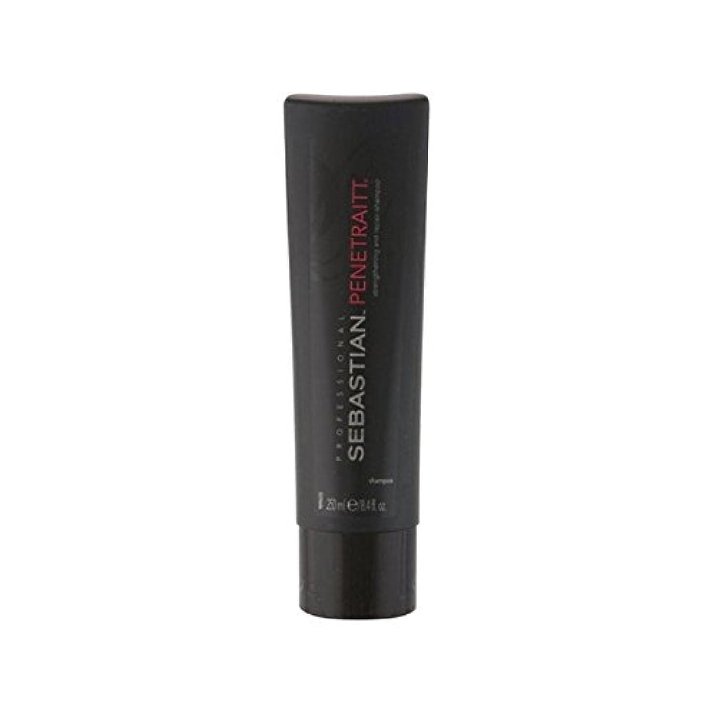 買い物に行く伝染性の視力セバスチャンプロシャンプー(250ミリリットル) x2 - Sebastian Professional Penetraitt Shampoo (250ml) (Pack of 2) [並行輸入品]