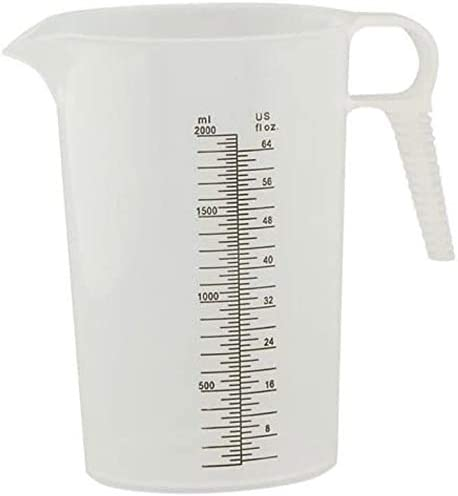 Measuring Pitcher Large Measuring Container Great Pool Measuring Cup For Chemicals Also Used product image