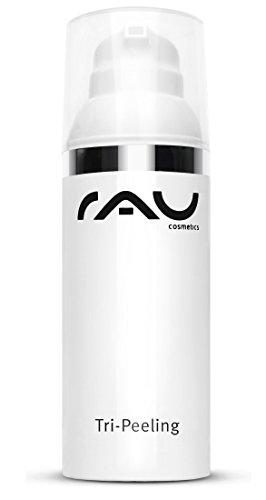 RAU Tri Peeling 50 ml - Fruchtsäure Peeling und Enzympeeling gegen Unreinheiten und Pickel mit Salicylic Acid