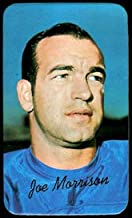 1970 Topps super (Football) Card# 27 Joe Morrison of the New York Giants ExMt Condition
