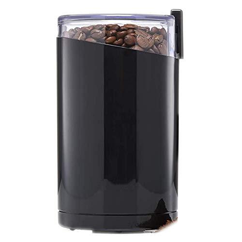 Gby Elettrico Coffee Grinder, Low Noise di Fagioli Spezie Nuts 200W Macchina, Sicuro E Durevole in Acciaio Inox Lame & Coperchio Trasparente