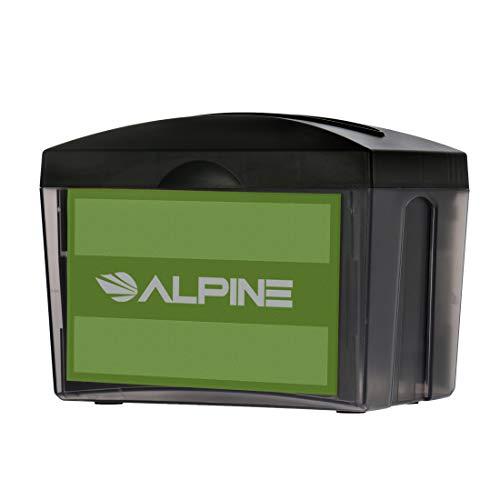 Alpine Industries Tabletop Interfold Napkin Dispenser - Heavy Duty Commercial Restaurant Napkin Holder