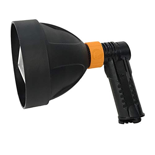 "Ultimate Wild Handheld Spotlight - Model SL-1000-1,000 Max Lumen Output - LED Light - Built-in Rechargeable Batteries - DPHD - Weather Resistant Construction - 8.75"", 15.8 oz"
