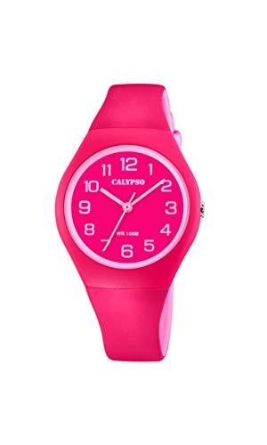 Calypso Quarz Uhr mit Kunststoff Armband K5777/3
