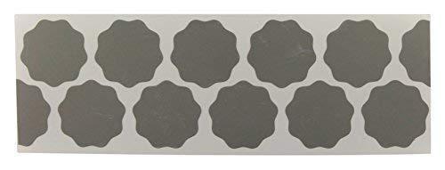 CLEANPRODUCTS 100 Stück Schleifblüten Körnung P3000, selbstklebend, 32/36 mm Durchmesser, Papier