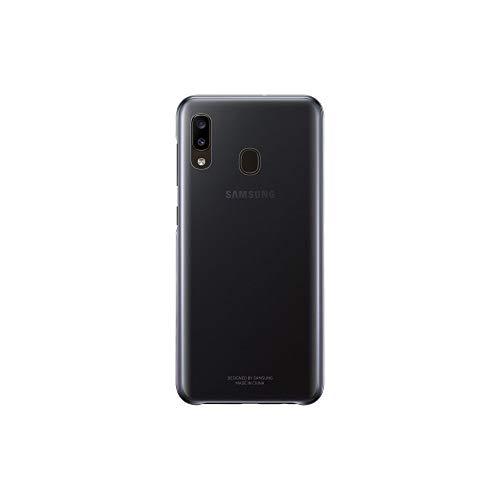 Samsung Galaxy A20e graderingsskydd, hårt skyddande smartphone-fodral, hållbar och lätt snygg design, svart