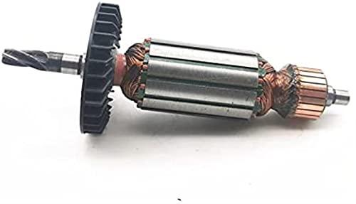 Reemplazo de anclaje de rotor de armadura AC220-240V para Makita HR2020 HR2021 HR2022 Taladro de impacto Martillo eléctrico Repuestos Ajuste perfecto