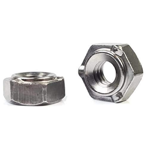 Metric Hex Weld Nuts Plain Steel Short Pilot 3 Projections M8-1.25 QTY 250