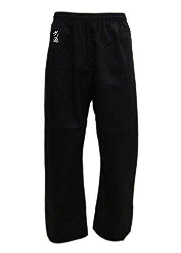 Budoten Karate-Hose schwarz 180