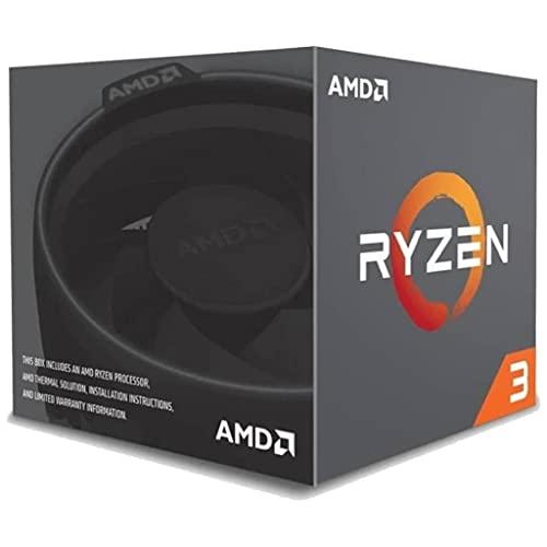 AMD Ryzen 3 1200 (4x 3,1/3,4 GHz) MB Sockel AM4 CPU mit Wraith Stealth Kühler