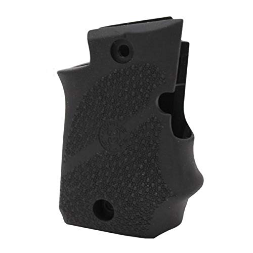 Sig Sauer P938 Ambidextrous Safety Rubber Grip with Finger Grooves Black