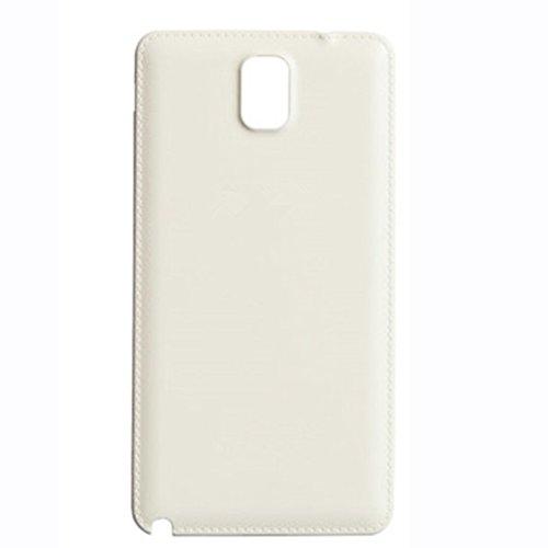 UU FIX Copri Batteria Back Cover per Samsung Galaxy Note 3 (Bianco) Posteriore Battery Door Ricambio con Il Kit degli Attrezzi
