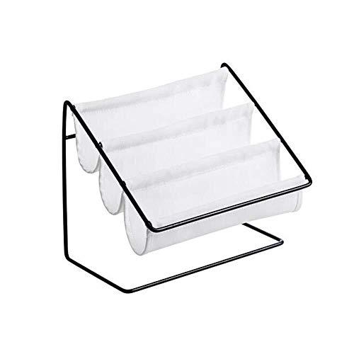 LULUDP Caja de Almacenamiento del enrutador Caja de Almacenamiento de Tela de Hierro de Circuito Impreso 3-Capa de Forjado for monturas de Gafas de papelería, Gafas de Sol, Gafas de Sol 7,28 * 3,93 *