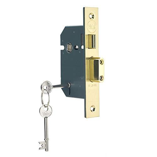 Maniglia porta in PVCu Rame lucido finitura Yale Locks PYWHL40PB
