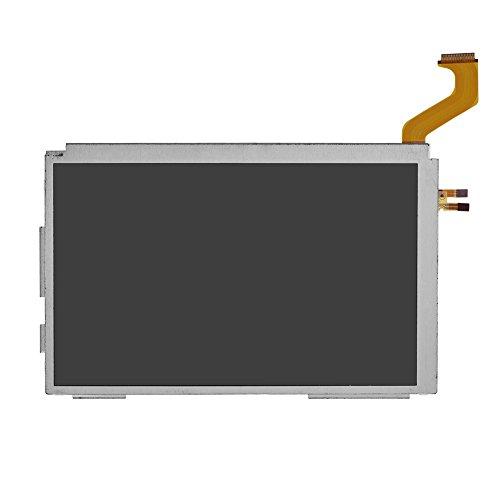 Zerone Oben LCD-Bildschirm für Nintendo 3DS XL, Glas LCD-Bildschirm Ersatz für Nintendo 3DS XL