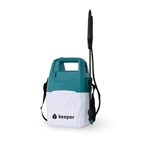Keeper Pulverizador Eléctrico Forest 5. Especial para Jardín. Capacidad de 5 litros