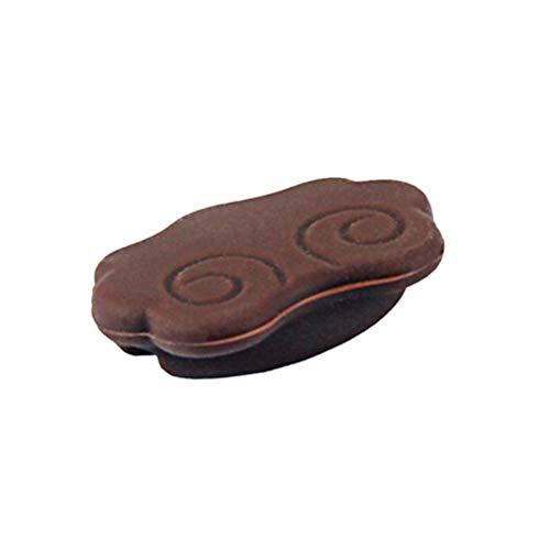 HEALLILY Chinesische Erhu Schalldämpferpads Ölfilter für Saiteninstrumente Teile und Zubehör (Kaffee)