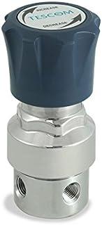 5 Port 0.06 CV Plated Brass Body CGA 540 TESCOM SG1P4151-03AP0 SG1 Single-Stage Pressure Regulator 0-125 PSIG Out Gauges SST Diaphragm