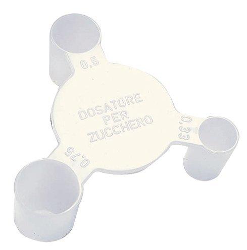PRODUZIONE BIRRA - DOSATORE PER ZUCCHERO A TRE MISURE 0,33-0,5-0,75 grammi