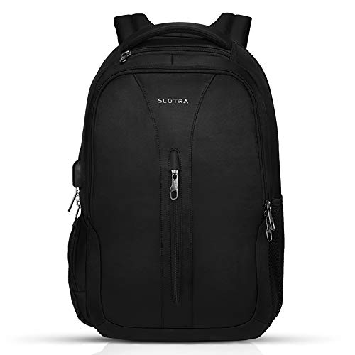 SLOTRA Business Backpack Bag Laptop Backpack Water Resistant Anti-Theft School Rucksack 15.6' Travel Laptop Backpack Men Women Student