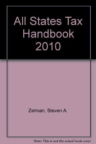 All States Tax Handbook 2010