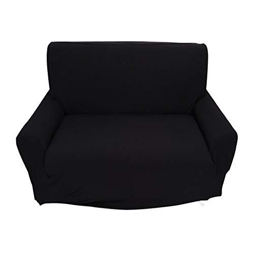 OhhGo Funda elástica para sofá de 2 plazas, funda elástica para sofá o silla